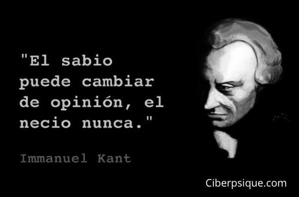 Frase filosófica de Kant