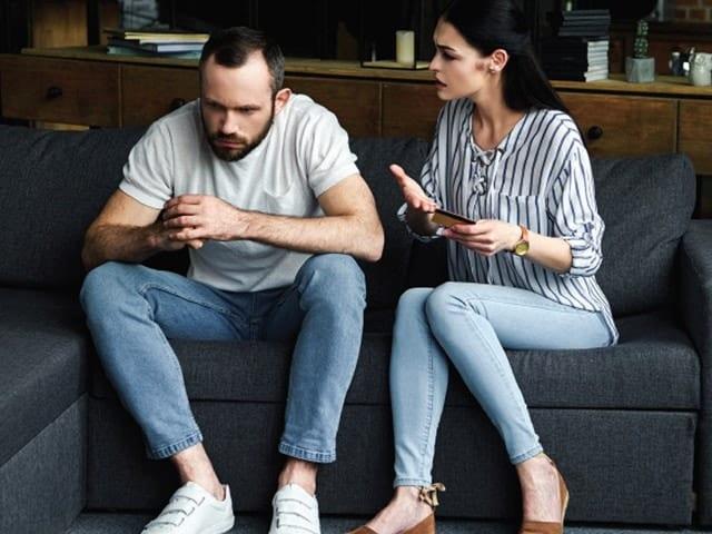 Hablar con la pareja de la infidelidad