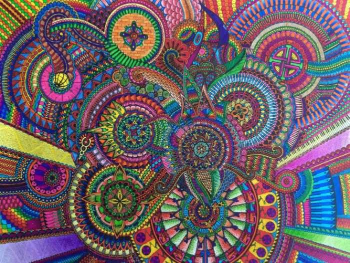 Mandalas coloreados recopilacion