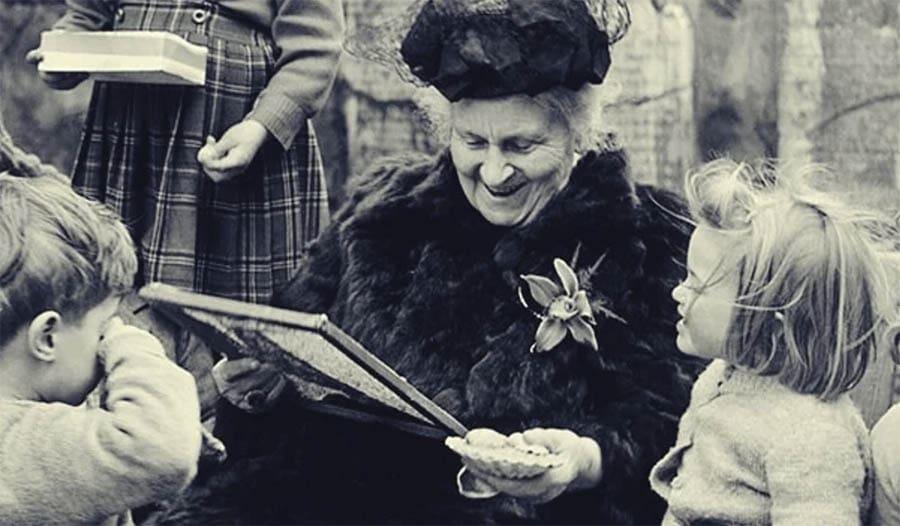 María Montessori método educativo