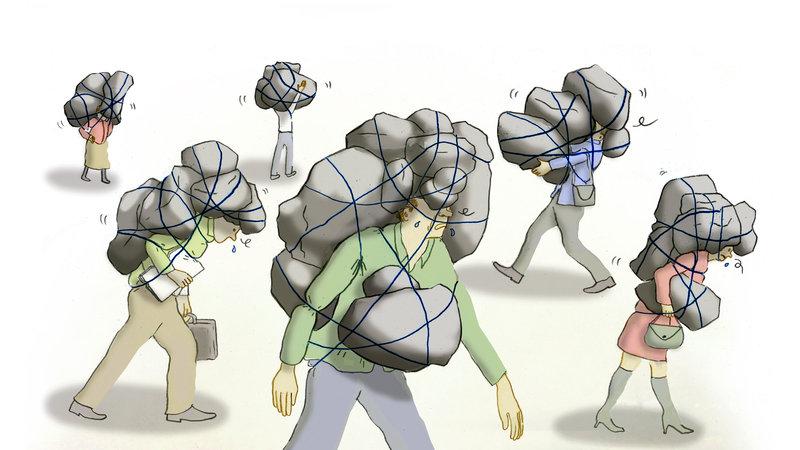Soportar estrés