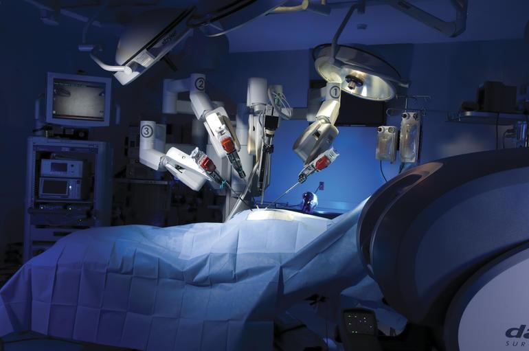 Operación robótica